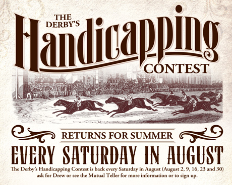 Handicapping Contest Summer 2014