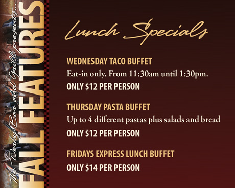 FALL FEATURES - Lunch