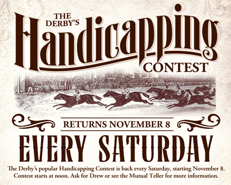 Handicapping Contest Fall 2014