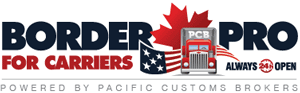 Border Pro For Carriers - Powered by Pacific Customs Brokers