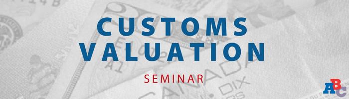 Image: Customs Valuation Seminar