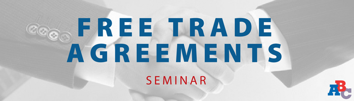 Image: Free Trade Agreements Seminar