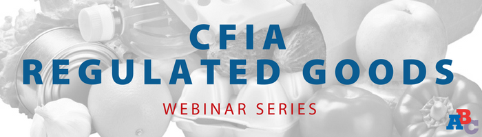 Image: Canadian Importing for Beginners and CFIA Regulated Goods Webinar Series