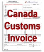 Canada Customs Invoice