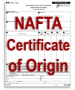 NAFTA Certificate of Origin