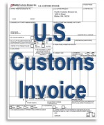 U.S. Customs Invoice