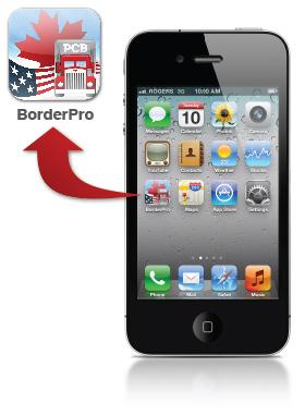 Border Pro iPhone App