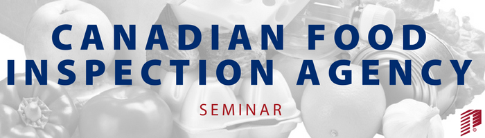 Image: Canadian Food Inspection Agency Seminar