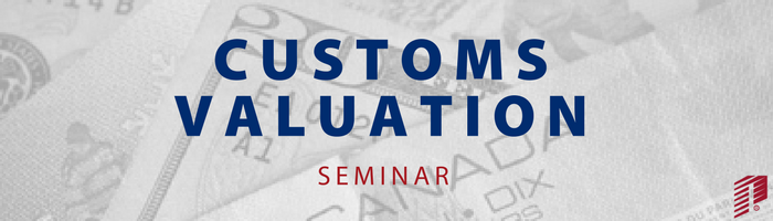 Image: Customs Valuation Seminar