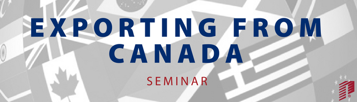 Image: Exporting from Canada Seminar