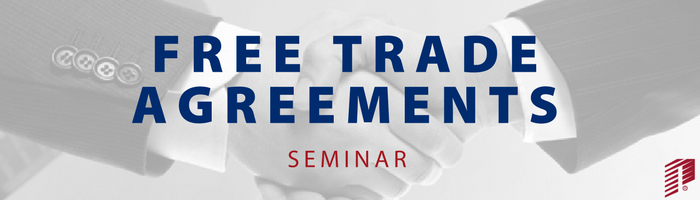 Image: Free Trade Agreements Seminar