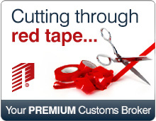 Cutting through red tape... your PREMIUM customs broker