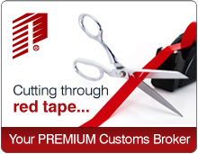 Cutting through red tape... your PREMIUM customs broker
