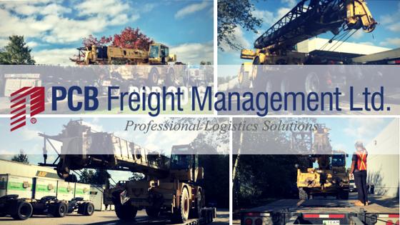 PCB Freight Cranes to Lima Peru