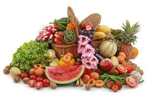 Fruits, vegetables and other perishables