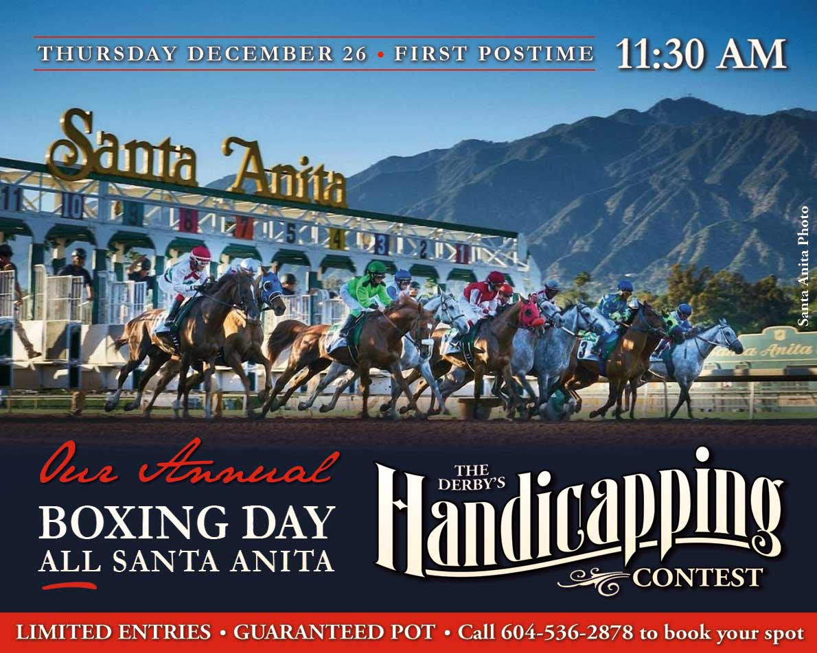 Santa Anita HC Contest